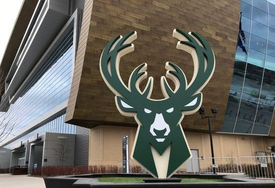 Fiserv Forum in Milwaukee.