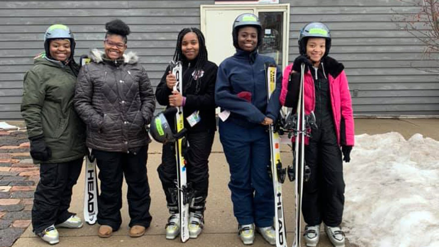 Wisconsin's only black ski club aims to get more people on the slopes