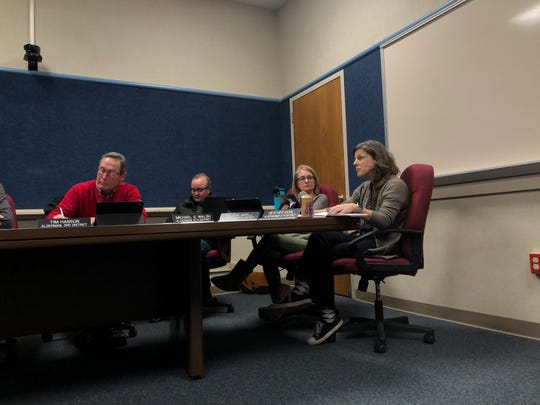Wauwatosa Alderperson Heather Kuhl (far right) said she is in support of prohibiting the use of plastic straws in businesses in Wauwatosa because of environmental concerns.