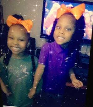 Zaniya R. Ivery, 5, and Camaria Banks, 4, are missing along with their mother Amarah Banks.