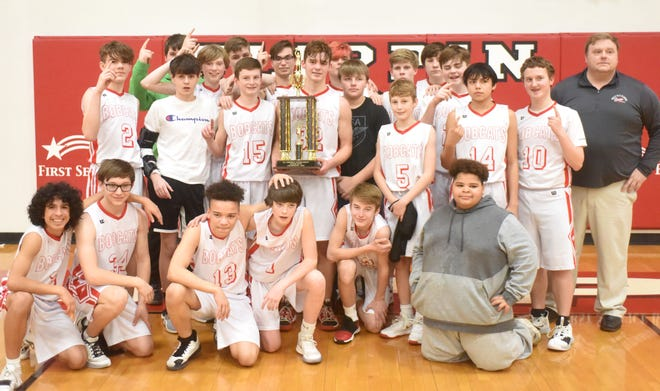 The Flippin Junior Bobcats defeated Cotter to win the 2A-1 Junior District Tournament title on Thursday.
