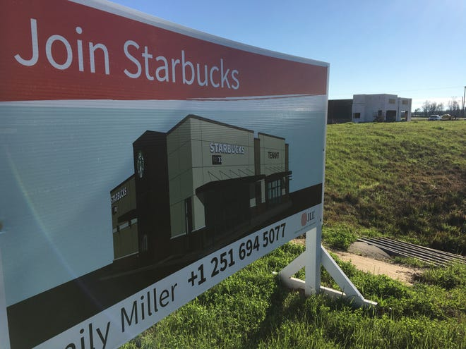 A Starbucks location is under construction at 10779 Chantilly Parkway in east Montgomery.