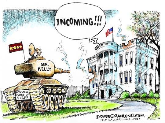 Gen. Kelly blasts Trump.