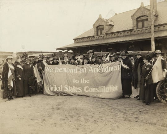 Women rallied in each state to win the vote, but it was a 72-year-struggle.