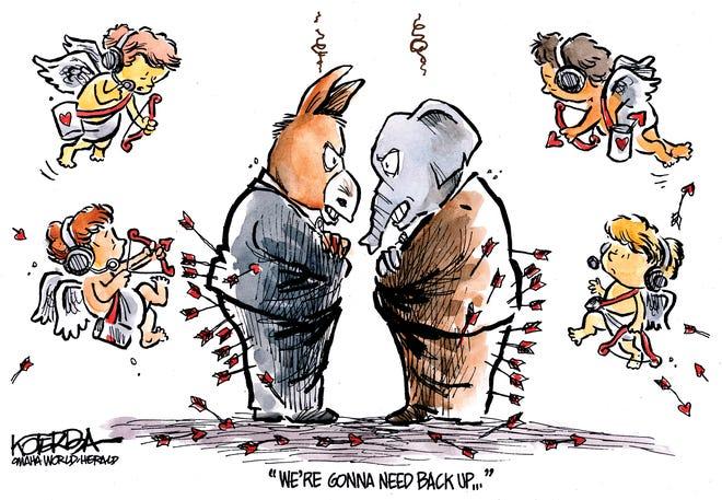 Cupids need backup vs. GOP and Democrats.