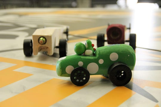 Alamogordo High School Shockwave held its CO2 car races on Feb. 13.