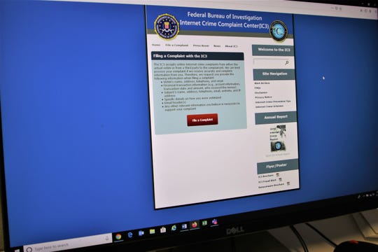 The FBI's online Internet Crime Complaint Center allows those who fear they have been victimized in an Internet enabled crime or scam to report the incident.