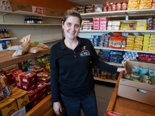 Maria Arraez and her husband, Eduardo, are planning to open their new Latin Roots Supermarket in early March, next door to the couple's other successful venture, Mr. Pollo Pensacola, on North Ninth Ave.