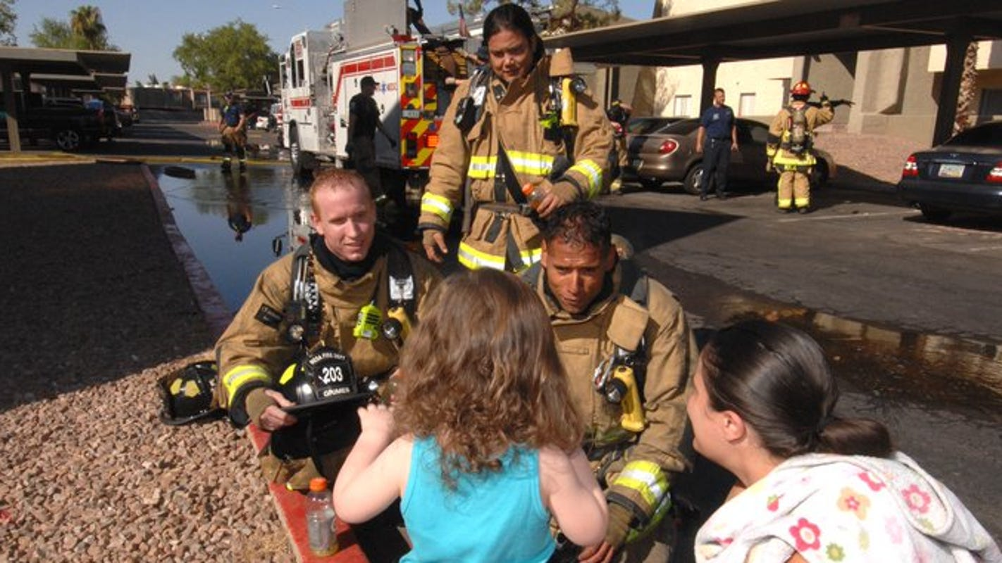 'People with autism are welcome here': Mesa is first Arizona fire department to become Certified Autism Center