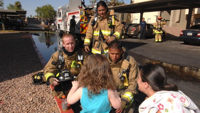 The Mesa Fire and Medical Department became the first fire team in Arizona to receive the designation of being aCertified Autism Center.