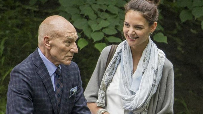"""Coda,"" a narrative feature starring Patrick Stewart and Katie Holmes, tells the story of a renowned pianist who finds inspiration from a music critic when he begins struggling with stage fright late in his career. The Sedona International Film Festival will show the film Feb. 23 at the Sedona Performing Arts Center."