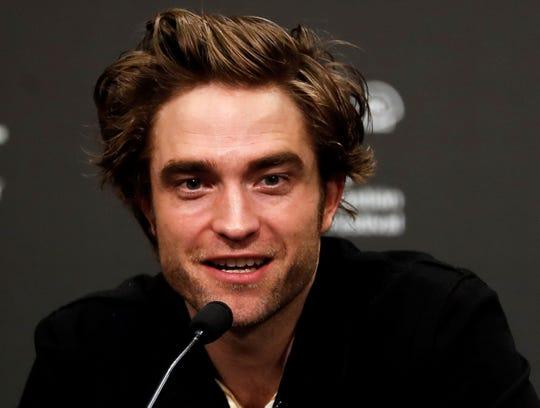 """El actor Robert Pattinson durante la presentación de su película """"""""High life"""""""", que compitió en la sección oficial del la 66 edición del Festival Internacional de Cine de San Sebastián.-"""