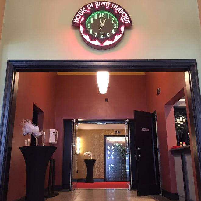The new entrance to the Little Theatre's main auditorium, Little 1, at 240 East Ave.