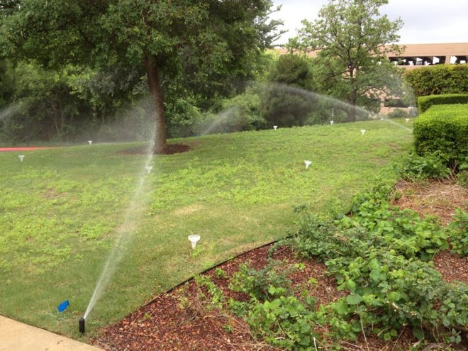 If you have sprinkler systems, make sure they are watering at the correct times, and watch to see if any runoff is making it to the gutter.
