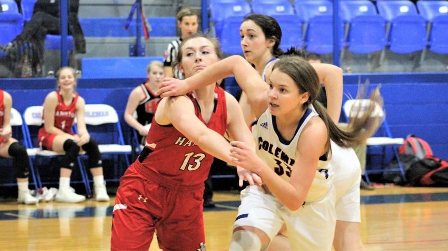 Coleman's Ginny Arnold voted Girls Basketball Player of the Week