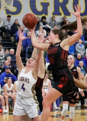 Mishicot senior Karly Ayotte tore her ACL a month ago but refuses to shut her season down and call it a career. Not with a trip to state a possibility.