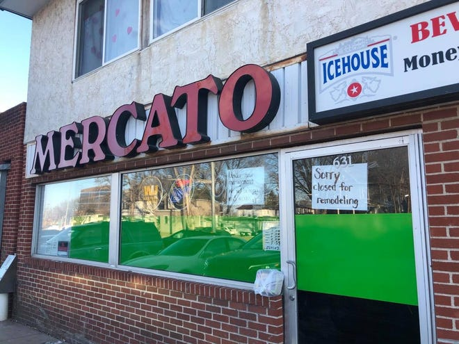 Mercato is closed for three weeks while the store is being remodeled.