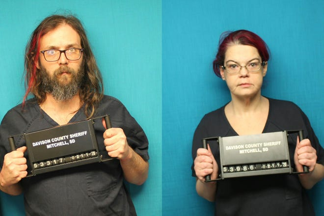Ryan Suing, 41, and Jennifer Thaler, 39, were arrested on charges of possession of a controlled substance, possession of a controlled substance with intent to distribute, and possession of more than a half pound of marijuana.