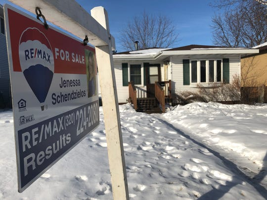 The number of homes for sale in the St. Cloud area have been declining in recent years. This Sauk Rapids home was for sale Friday, Feb. 14, 2020.