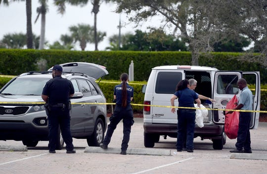 A jogger notified Fort Pierce police of a suspicious vehicle Friday, Feb. 14, 2020, inside the Harbor Isle neighborhood in the 800 block of Seaway Drive. A body was discovered inside the vehicle which police believe is the body of an Orlando murder suspect.
