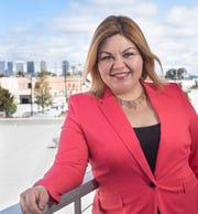 Dina Cervantes is one of six candidates running in the March 3 primary for the 38th District Assembly seat.