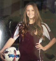 Tulare Union HIgh School soccer player Alexis Frost is the Visalia Times-Delta prep athlete of the week.
