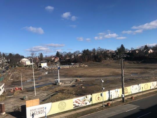 Mount Vernon's Memorial Field on Feb. 14, 2020