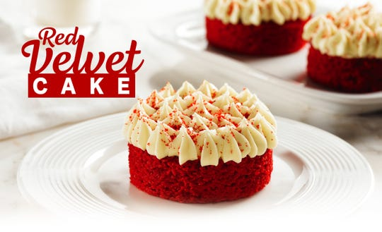 Popeyes has a new seasonal dessert: the Red Velvet Cake Cup.