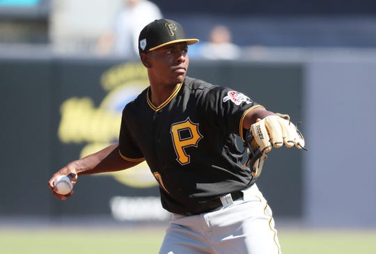 The Pirates took Ke'Bryan Hayes with the 32nd pick in 2015.
