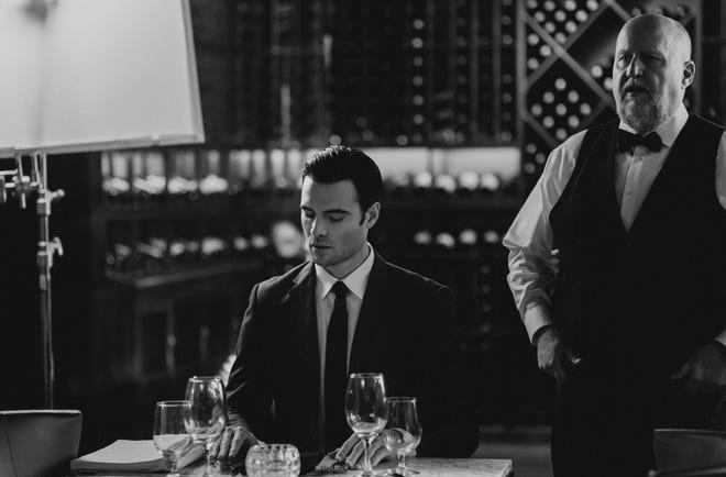 "Giulio Berruti plays Gabriel Emerson in ""Gabriel's Inferno."""