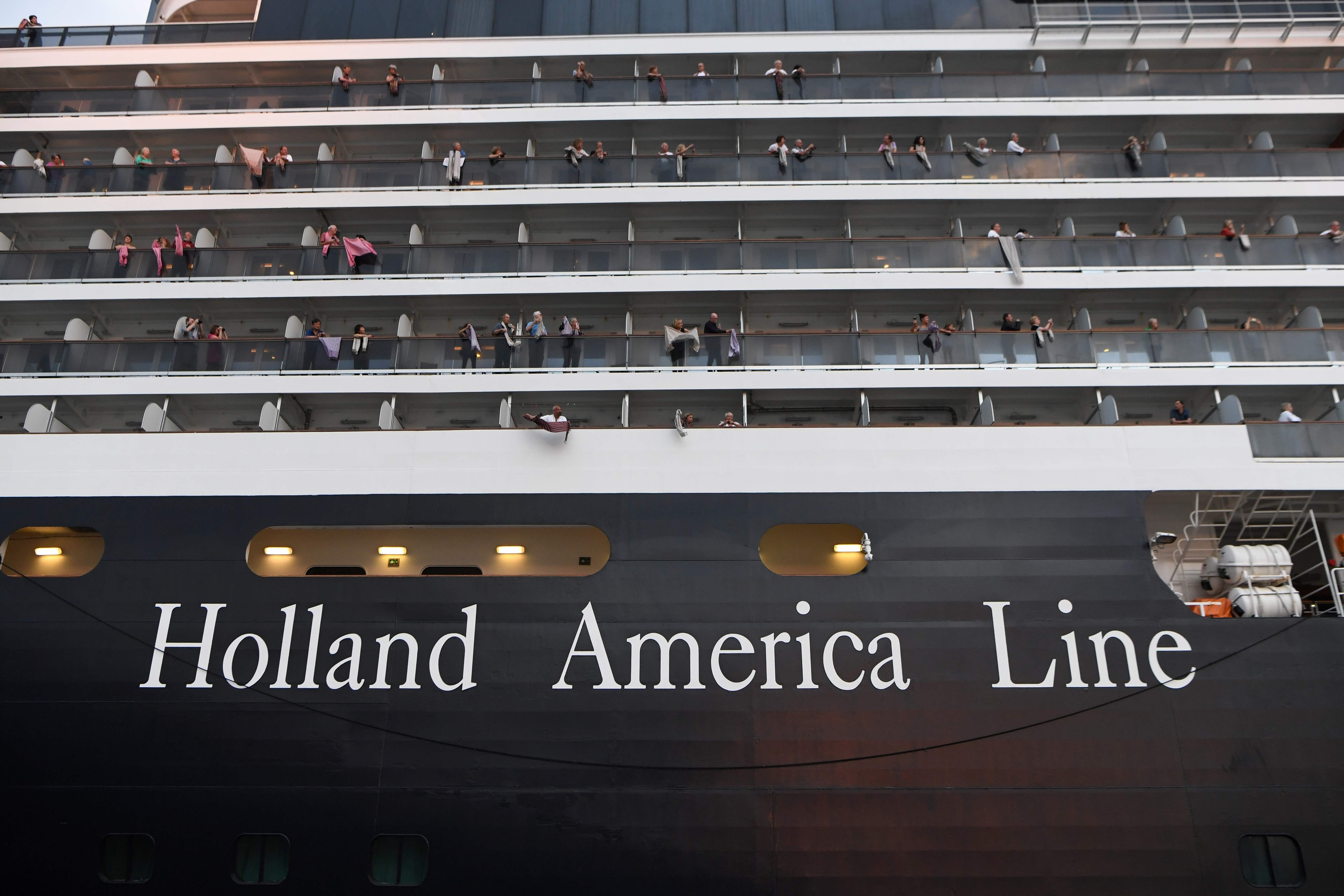 American woman, 83, tests positive for coronavirus after disembarking Holland America ship