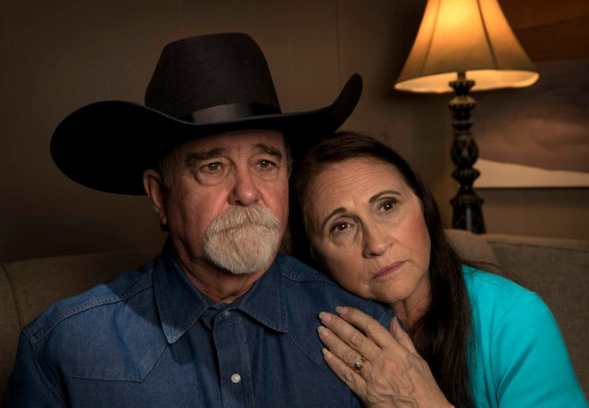 Bob and Pam Ayers, photographed in Dripping Springs on Wednesday January 15, 2020, are the parents of Amy Ayers, who was murdered in an Austin yogurt shop in 1991.   [JAY JANNER/AMERICAN-STATESMAN]