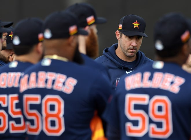 Justin Verlander and the Houston Astros have a long road ahead of them this season.