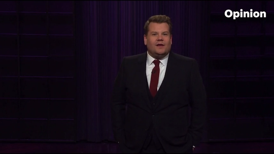 James Corden tries to figure out why Americans love Valentine's Day so much