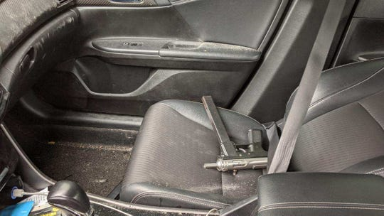Police recovered several firearms from inside the stolen Accord, according to the release.