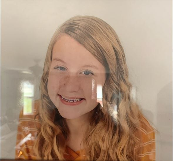 The Boone County Sheriff's Office began is searching for a missing 14-year-old girl.