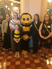 The royal court of the Honey Bee Association