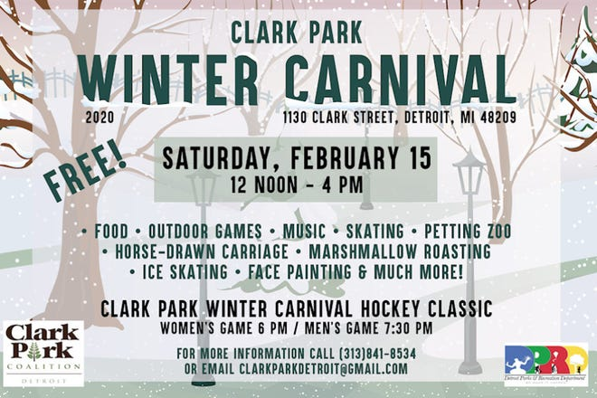 This annual frosty fun fest returns with skating, horse-drawn carriage rides, ice skating, marshmallow roasting, music, food and more.