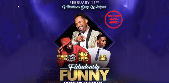 """Comedy heavyweight Mike Epps brings """"The Fabulously Funny Comedy Festival"""" to Fox Theatre."""