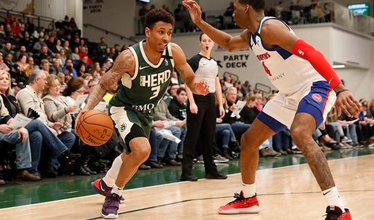 Wisconsin Herd guard Jaylen Adams was named to 2020 USA FIBA AmeriCup Qualifying Team nine days after named the NBA G League Player of the Month for January.