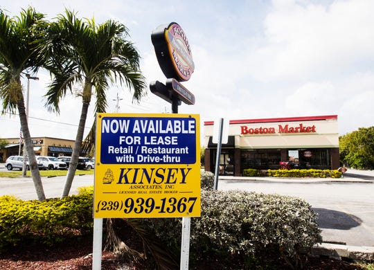 The Boston Market location in Fort Myers is closing with it's last day of operation this week.