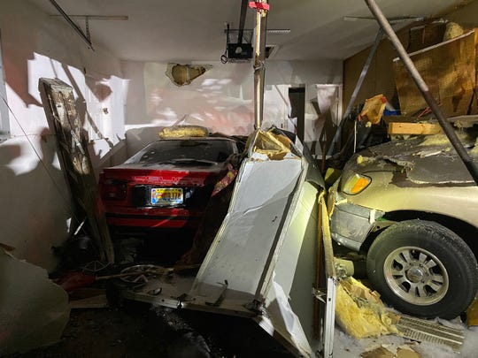 Collier County deputies are looking for a driver who they say caused a crash at 53rd Street and Golden Gate Parkway before fleeing in a Ford F-150. The truck ultimately crashed into a home on 52nd Street and the driver fled on foot. Another motorist and a pedestrian were injured in the incident.