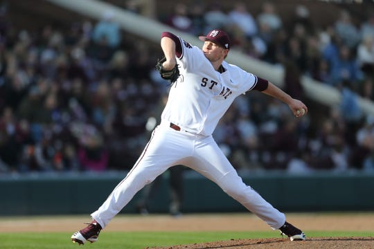 Mississippi State pitcher Christian MacLeod pitched a gem in his first career start. He had 11 strikeouts and only allowed one hit and one walk in 5.0 innings against Wright State on Saturday.