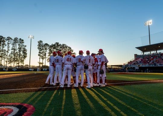 Due to the coronavirus, the UL baseball team may have met on the field at The Tigue for the final time this season like it earlier this year for its 2020 opener against Southeastern Louisiana.