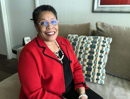 Congresswoman Marcia Fudge, chair of the House Agriculture Subcommittee on Nutrition, Oversight and Department Operations, is also a champion of women's heart health.