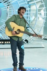 """Arthur Gunn, a singer and musician originally from Kathmandu, Nepal based in Wichita, Kansas, auditioned for the new season of """"American Idol"""" at the Milwaukee Art Museum. Gunn's audition will air on the show's season premiere Sunday on ABC."""