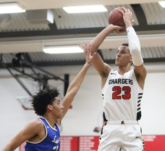 Patrick Baldwin Jr., who is averaging 24.2 points, 11 rebounds and 4.2 assists this season for Sussex Hamilton, was named to the all-state team for the third straight year.