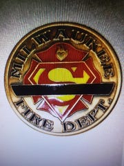 This is a challenge coin made in honor of firefighter Darrin Jones who died on Feb. 1.