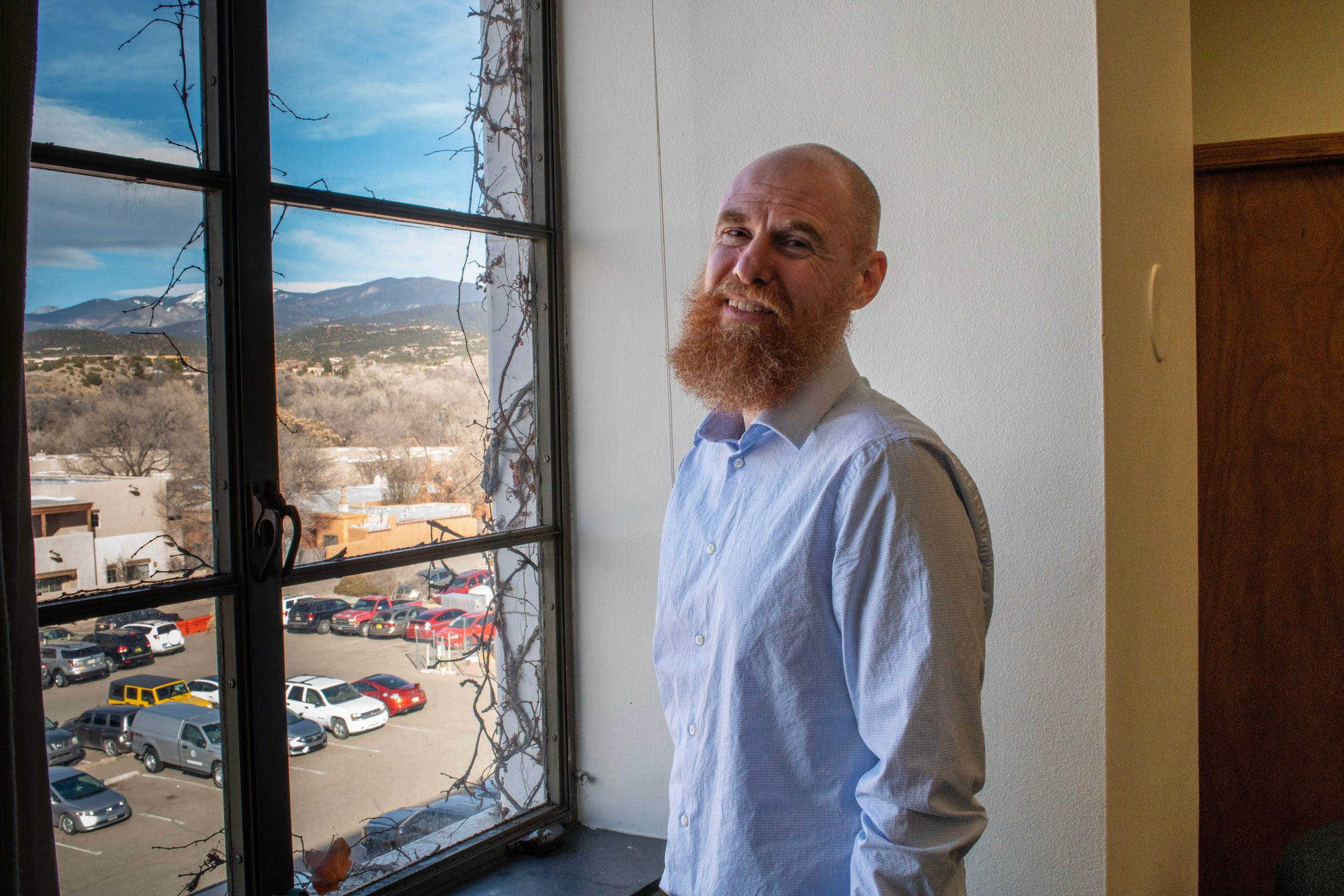 Brian Blalock, secretary of New Mexico's child-services agency, which reached an agreement last summer with the Albuquerque Police Department to work together to make child removal decisions.