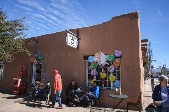 Vintage Mercado is shown on Main Street in Downtown Las Cruces on Saturday, Feb. 15, 2020.